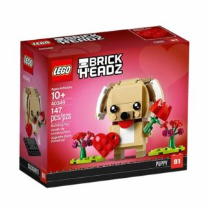 LEGO Brickheadz 40349 Valentinstag-Welpe