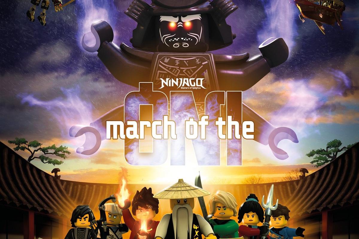 LEGO Ninjago Staffel 10 - Der Marsch der Oni - Serienstart