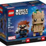 LEGO Brickheadz 41626 Groot und Rocket