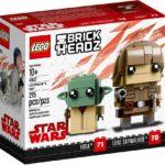 LEGO Brickheadz 41627 Luke Skywalker und Yoda