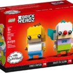 LEGO Brickheadz 41632 Homer Simpson und Krusty der Clown
