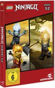 LEGO Ninjago Staffel 11 DVD 11.2