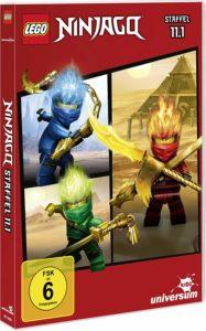 LEGO Ninjago Staffel 11 DVD 11.1