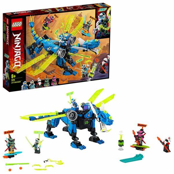 LEGO 71711 NINJAGO Jays Cyber-Drache Ninjago Staffel 12