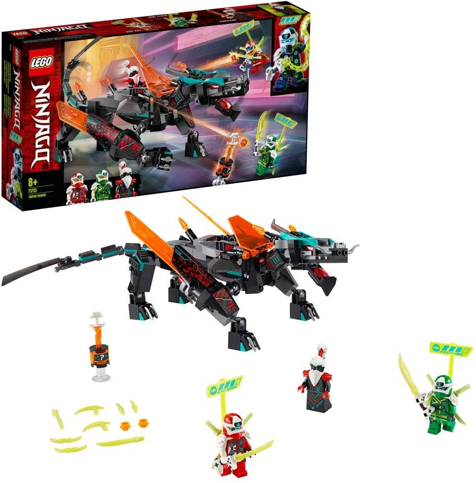 LEGO Ninjago 71713 Schwarzer Tempeldrache