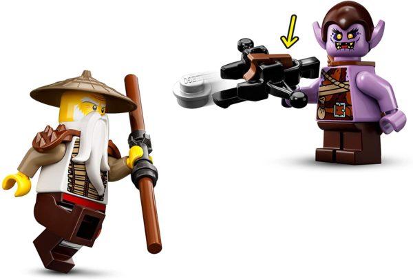 LEGO NINJAGO 71718 - WUS gefährlicher Drache
