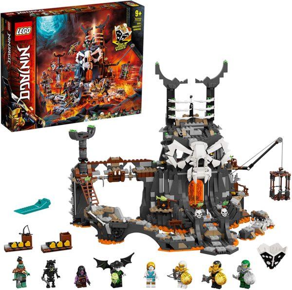 LEGO NINJAGO 71722 - Verlies des Totenkopfmagiers