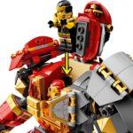 LEGO NINJAGO 71720 Feuer-Stein-Mech