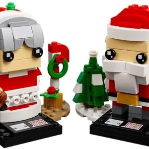 LEGO Brickheadz 40274 Herr und Frau Weihnachtsmann