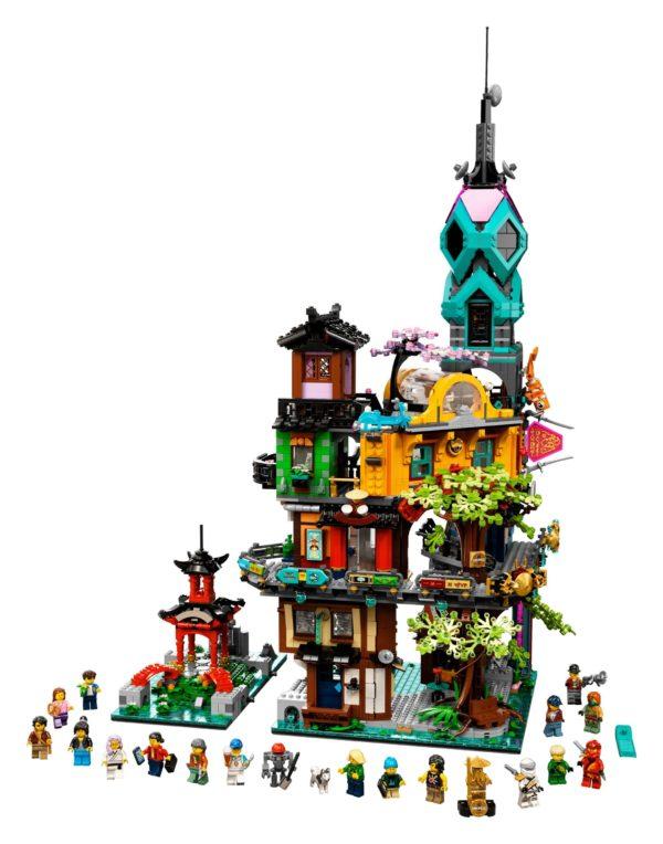 Die Gärten von Ninjago City