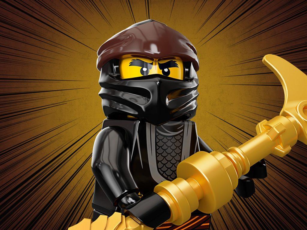 Ninjago Ninja Cole