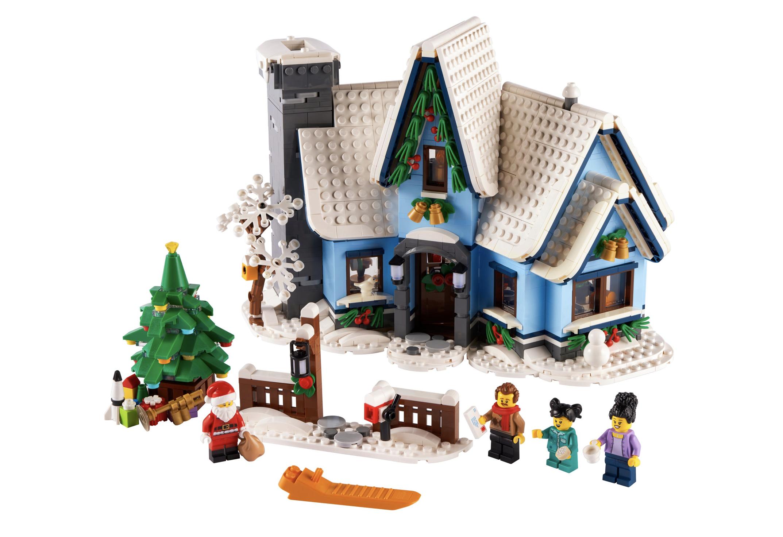 LEGO Creator Besuch des Weihnachtsmanns 10293