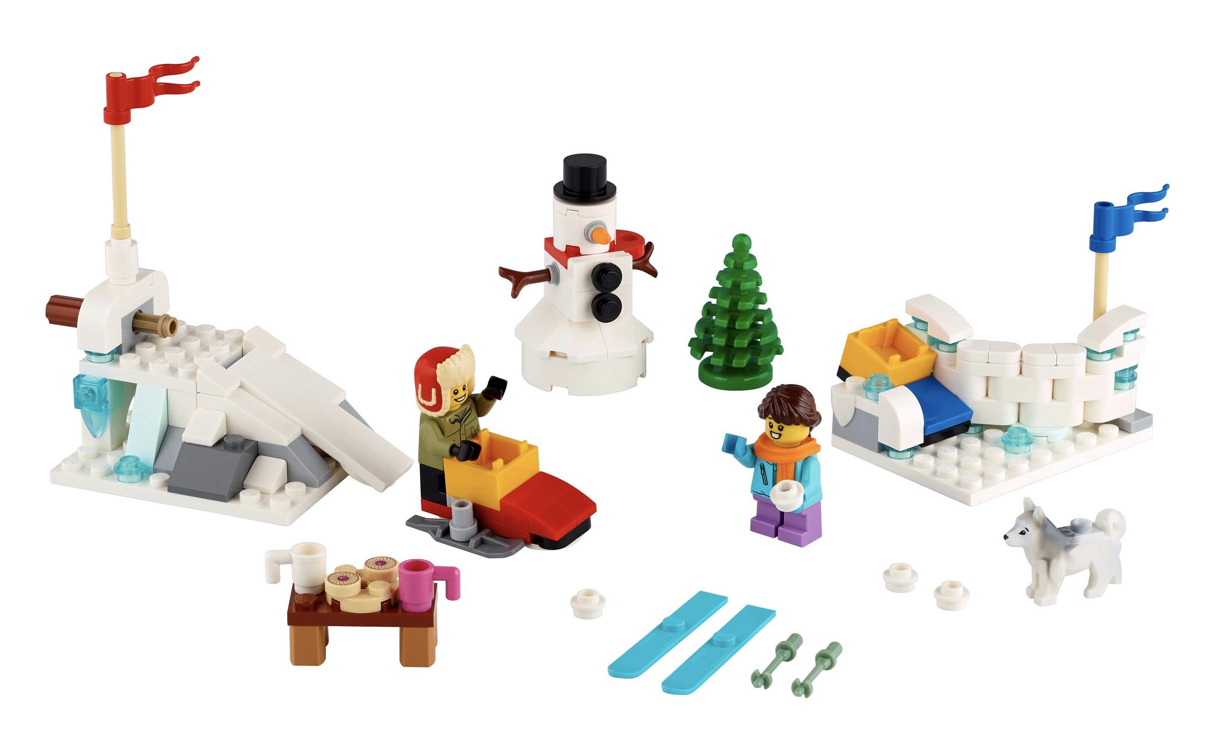 LEGO Schneeballschlacht 40242
